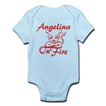 Angelina On Fire Infant Bodysuit