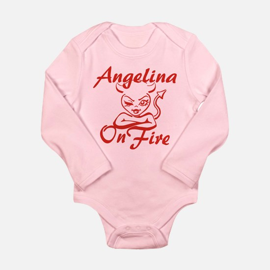 Angelina On Fire Onesie Romper Suit