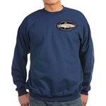 Brown Trout Sweatshirt (dark)