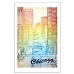 Chicago River Large Poster