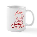 Ann On Fire Mug