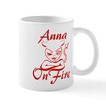 Anna On Fire Mug