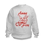 Anne On Fire Kids Sweatshirt