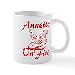 Annette On Fire Mug