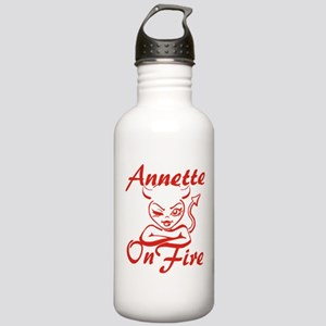 Annette On Fire Stainless Water Bottle 1.0L