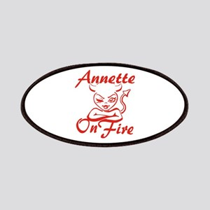 Annette On Fire Patches