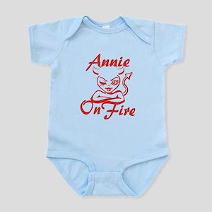 Annie On Fire Infant Bodysuit