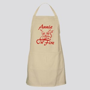 Annie On Fire Apron
