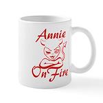 Annie On Fire Mug
