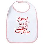 April On Fire Bib