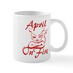 April On Fire Mug