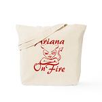 Ariana On Fire Tote Bag