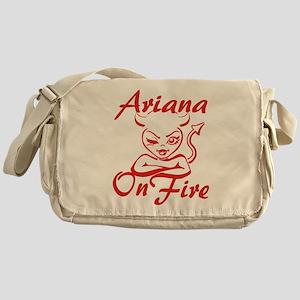 Ariana On Fire Messenger Bag