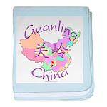 Guanling China Map baby blanket