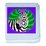 zebrasong baby blanket