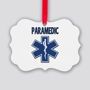 Paramedic EMS Picture Ornament