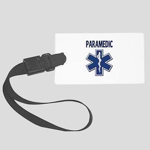 Paramedic EMS Large Luggage Tag