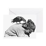 Pet Crow - Greeting Cards (Pk of 10)