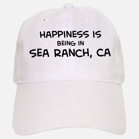 Sea Ranch - Happiness Baseball Baseball Cap
