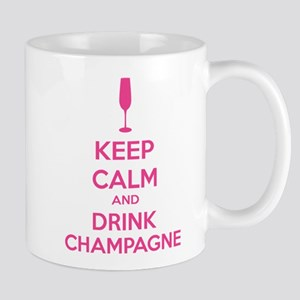 Keep calm and drink champagne Mug
