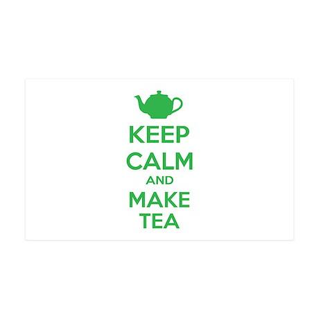 Keep calm and make tea 38.5 x 24.5 Wall Peel