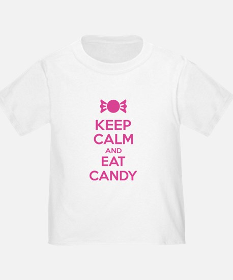 Keep calm and eat candy T