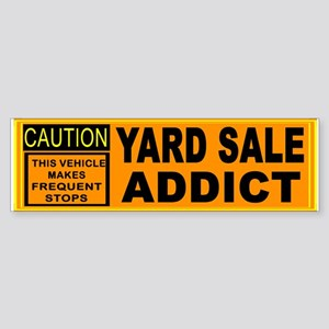 YARD SALES Sticker (Bumper)