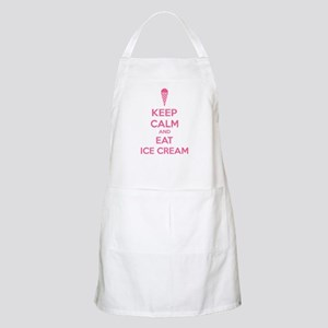 Keep calm and eat ice cream Apron