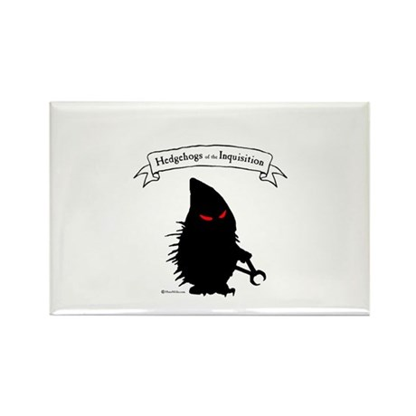 Hedgehogs of the Inquisition Rectangle Magnet