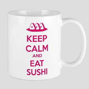 Keep calm and eat sushi Mug