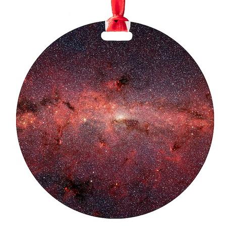 Milky Way Galaxy Center Ornament (Round)