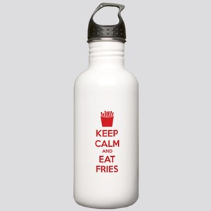 Keep calm and eat fries Stainless Water Bottle 1.0