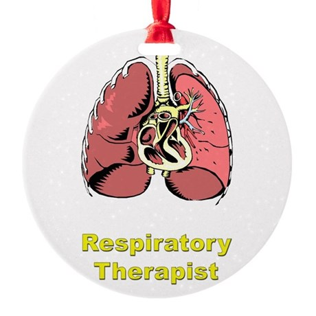 Lungs RRT Ornament (Round)