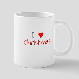 I Heart Christmas Mug