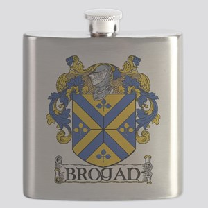 Brogan Coat of Arms Flask