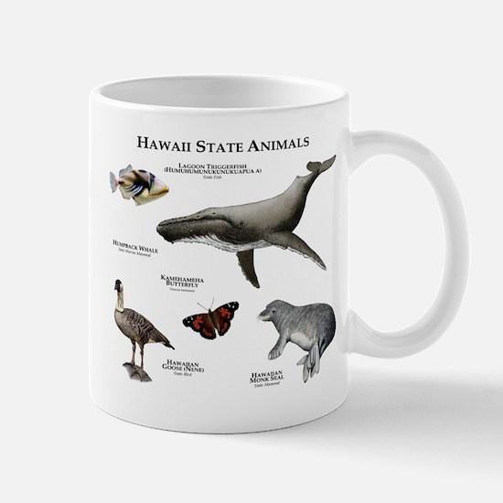 Hawaii State Animals Mug