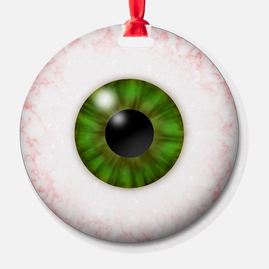 Green Eye Ornament (Round)