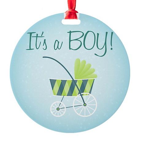 It's a Boy! - Ornament (Round)