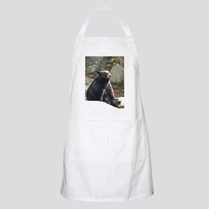 Black Bear Sitting Apron