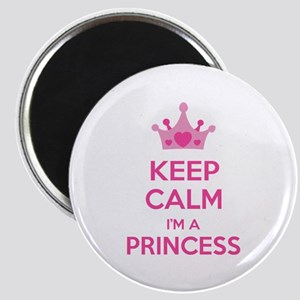 Keep calm I'm a princess Magnet