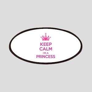 Keep calm I'm a princess Patches