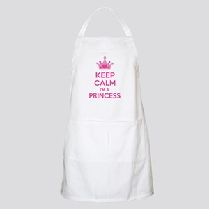 Keep calm I'm a princess Apron