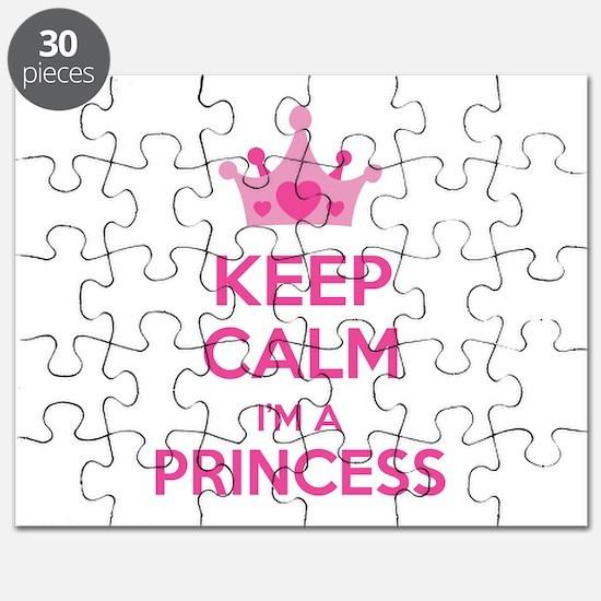 Keep calm I'm a princess Puzzle