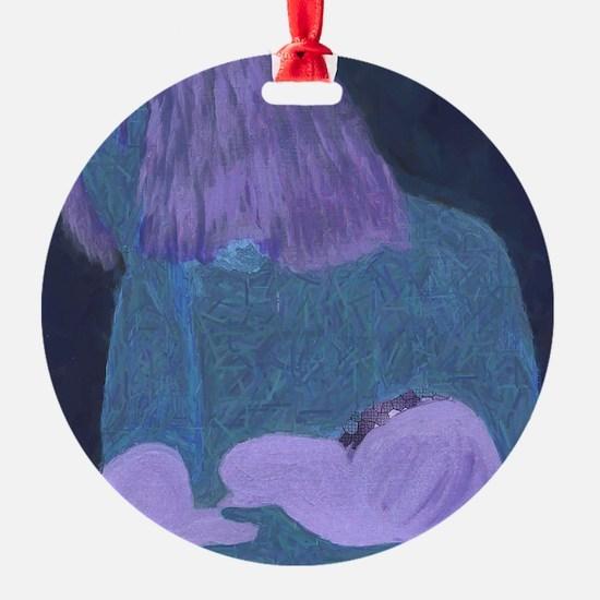Art Work Ornament (Round)