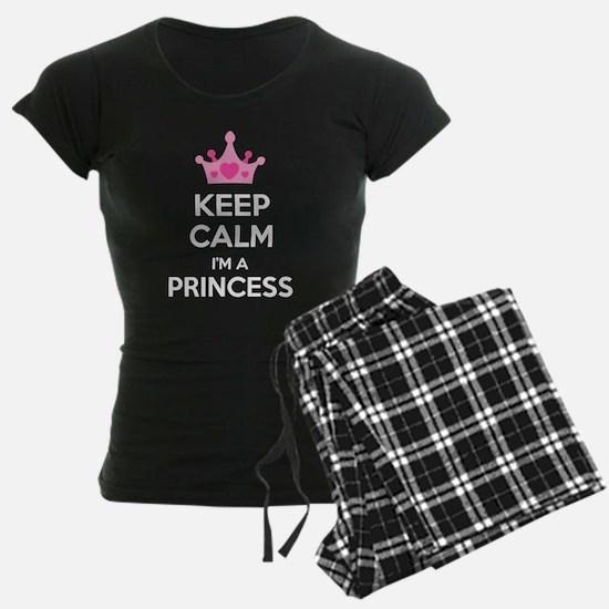 Keep calm I'm a princess Pajamas