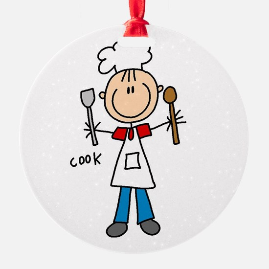 Professions Cook Ornament (Round)