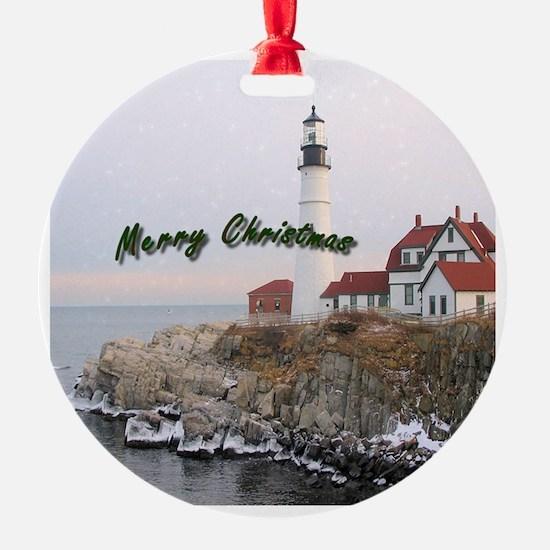 Light House Christmas Ornament