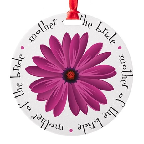 Mother Daisy Ornament (Round)