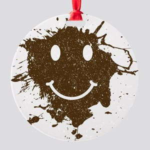 Mud Face Ornament (Round)
