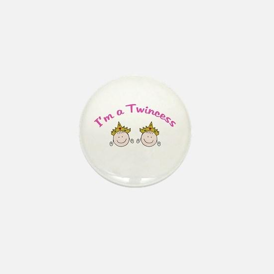 I'm a Twincess Mini Button